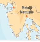 Mappa Matulij | Dentisti Croazia