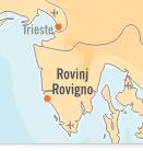 Mappa Rovinj | Dentisti Croazia